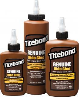 """Medienos klijai """"Titebond Liquid Hide Glue"""". Ypač stiprūs klijai antikvariniams baldams ir muzikos instrumentams"""