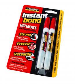 Momentiniai Klijai Titebond Instant Bond Ultimate All-Purpose Glue (super klijai)